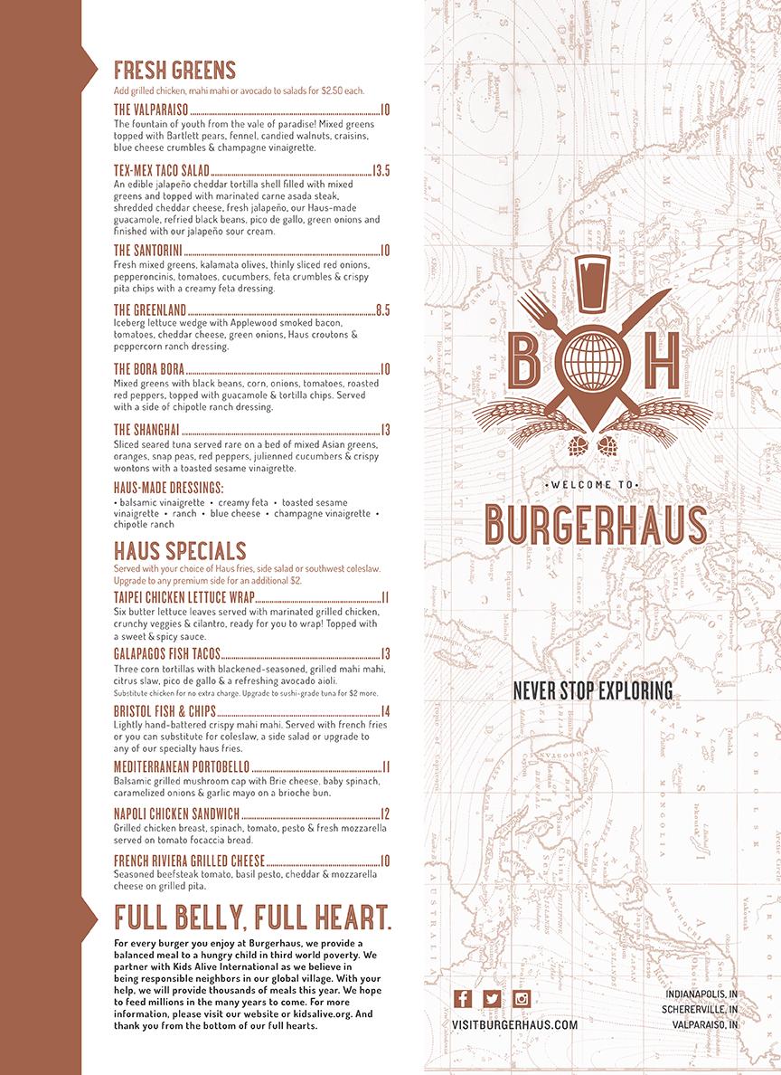 Burgerhaus Menu (Page 1)