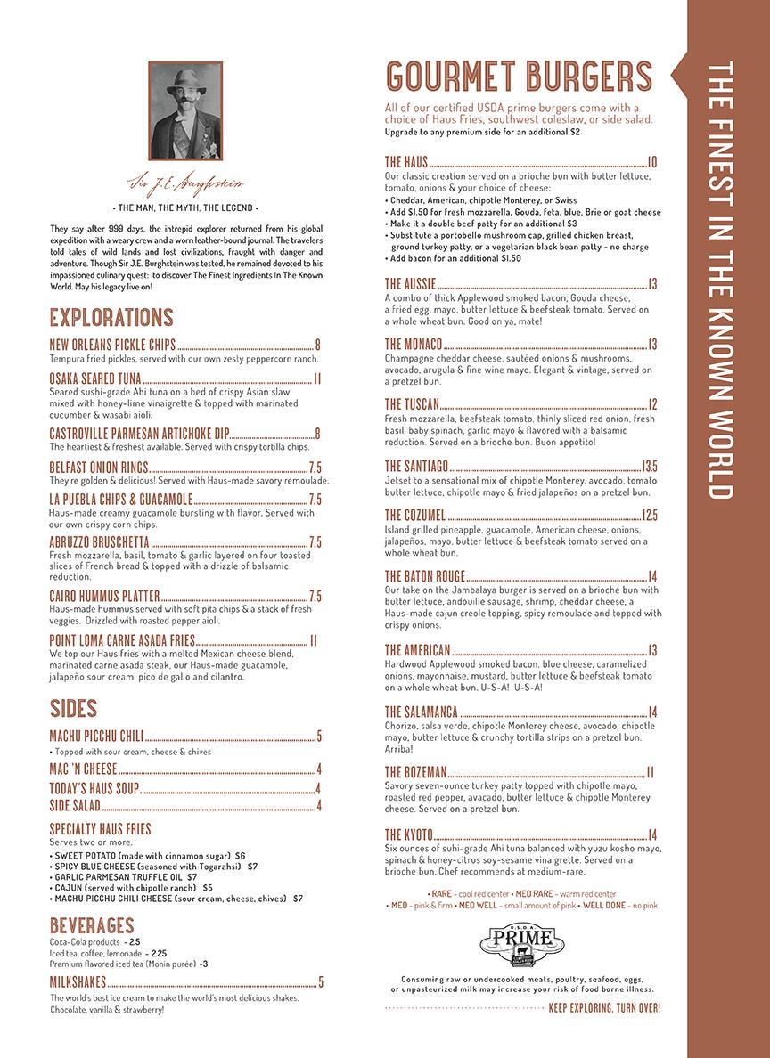 Burgerhaus Menu (Page 2)